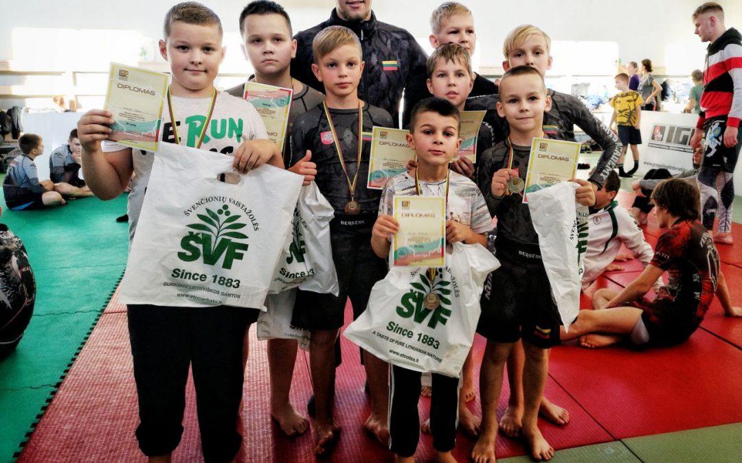 Švenčionyse vyko Lietuvos moksleivių graplingo pirmenybės